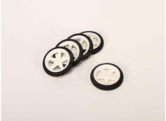 Light Foam Wheel (Diam: 55, breedte: 10mm) (5pcs / bag)