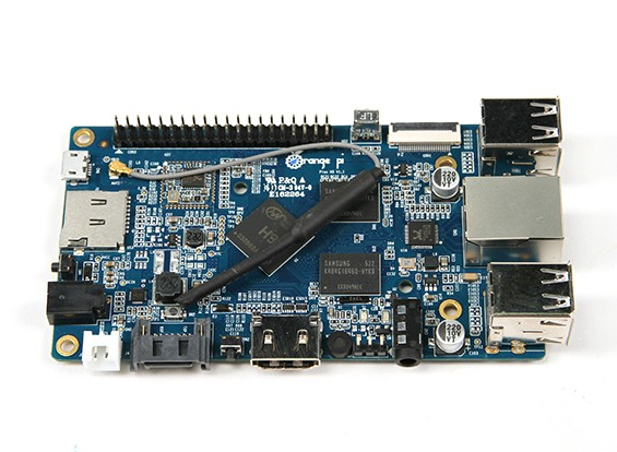 Oranje Pi Plus CPU