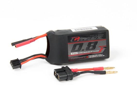Pack Turnigy Grafeen 800mAh 2S 20C Lipo