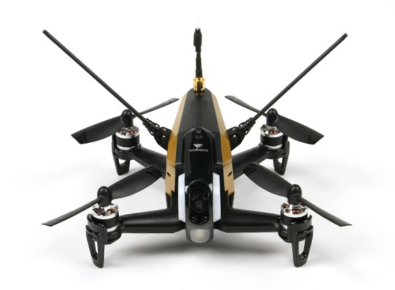 Walkera Rodeo 150 FPV Drone (RTF) (Zwart / Goud) (Mode 2) (US Plug)