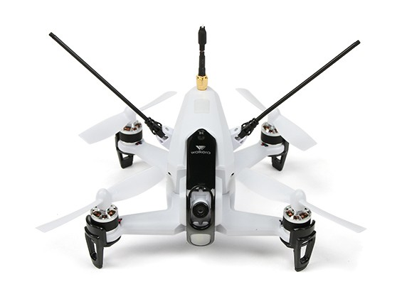 Walkera Rodeo 150 FPV Drone (RTF) (wit) (Mode 2) (EU Plug)