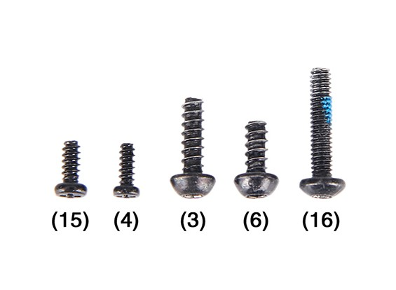 Walkera Rodeo 150 - Screw Set