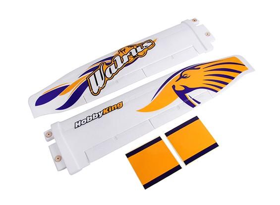 HobbyKing® ™ Walrus - onderdeel - Main Wing w / Sticker Set