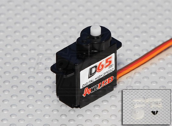 DS65HB Digital High Speed Servo 6,5 g / 1,5 kg / .07sec