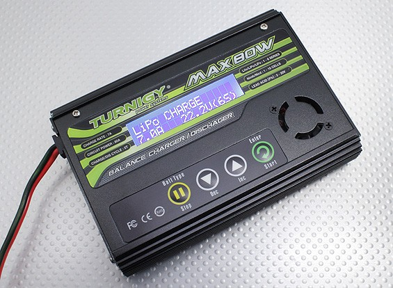 Turnigy MAX80W 7A Lithium Polymer Battery Charger