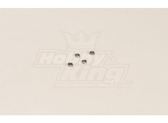 GT450PRO Bearing (5.98x2.48x2.96mm) 4 stuks