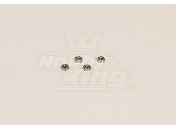 GT450PRO Bearing (7.99x2.96x2.96mm) 4 stuks