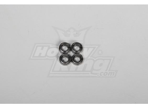 Main Blade Holder Bearing 6x12x4mm 500 Size Heli (4 stuks / set)