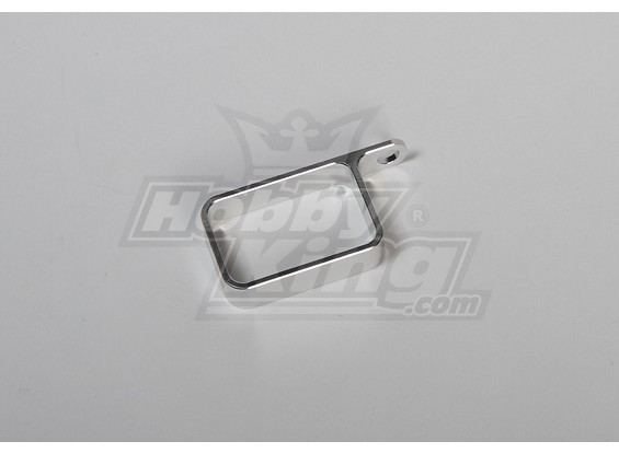 Metalen houder (zilver)