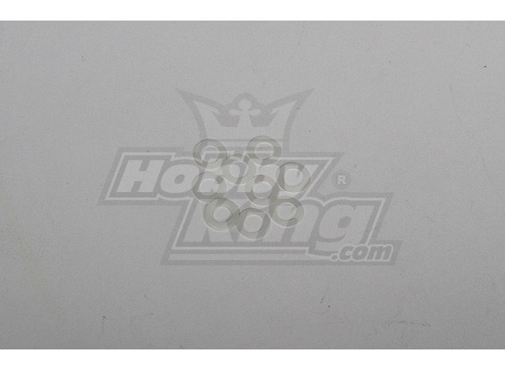 Hoge kwaliteit Nylon Washer voor alle heli 5x8x0.2mm (20st)
