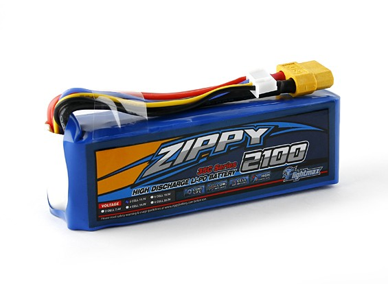 Pack Zippy Flightmax 2100mAh 3S 35C Lipo