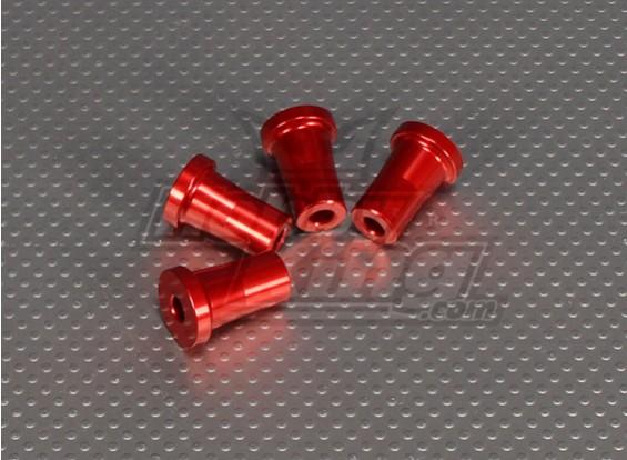 CNC Standoff 25 mm (M5) Rood