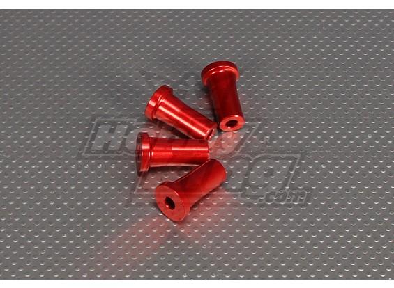 CNC Standoff 30 mm (M5) Rood