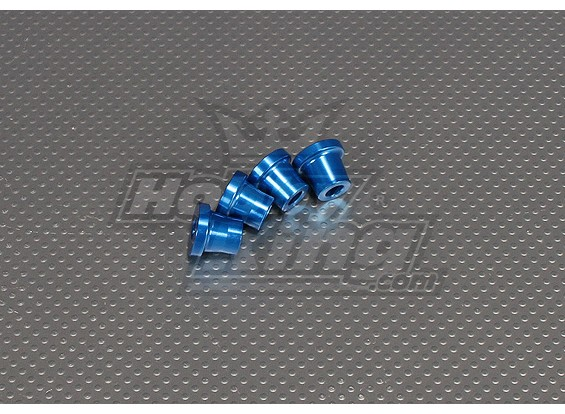 CNC Inch Standoff 15mm (M6,1 / 4 20) Blue