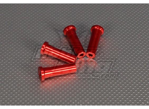 CNC Standoff 45 mm (M5) Rood