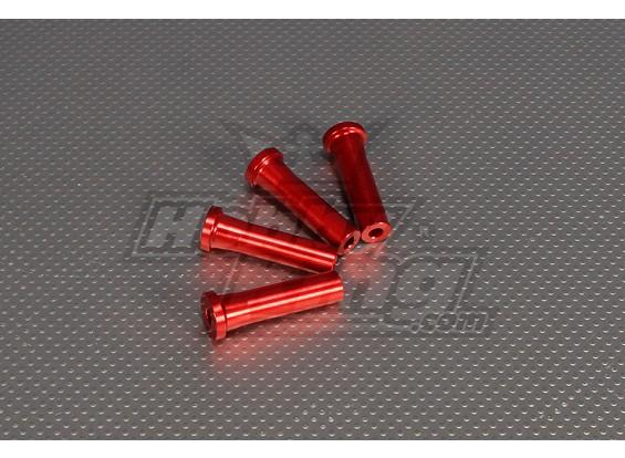CNC Standoff 50 mm (M5) Rood