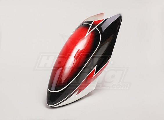 Glasvezel Canopy voor Trex-600 Nitro