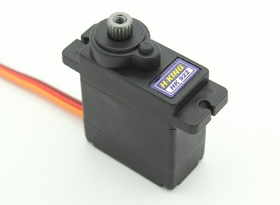 HobbyKing ™ HK-922MG Digital MG Servo 1.8kg / 0.07sec / 12g