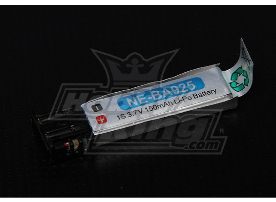 Nine Eagles vervanging High-Cap 150mAh 1S LiPo