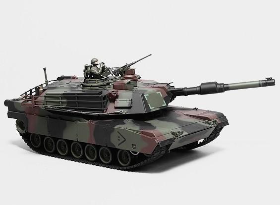 M1A2 Abrams RC Tank RTR w / Tx / geluid / Infrared