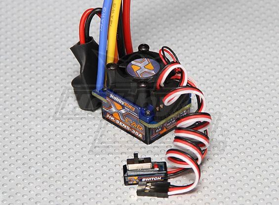 HobbyKing® ™ 35A Sensored / Sensorless Car ESC (1: 10/1: 12)