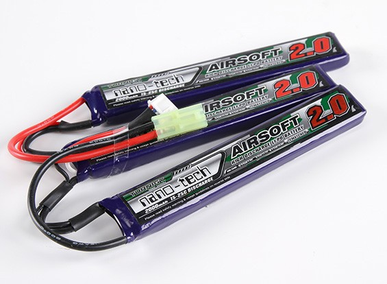 Turnigy nano-tech 2000mAh 3S 15 ~ 25C Lipo AIRSOFT Pack