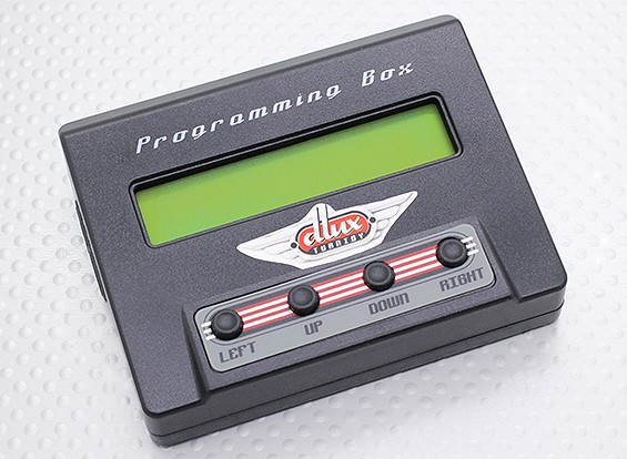 Turnigy Dlux Programming Box w / datalogging Feature