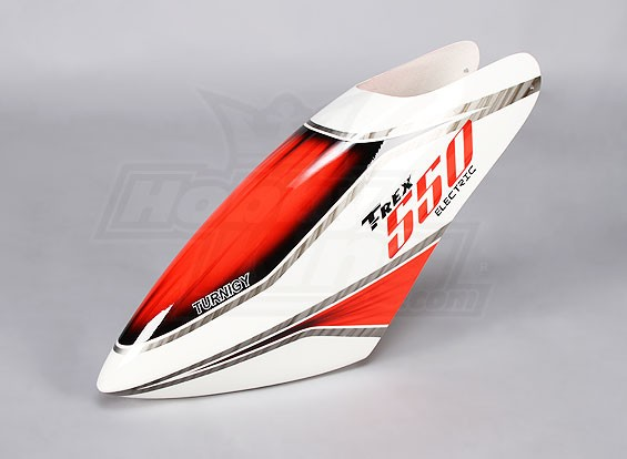 Turnigy High-End Fiberglass Canopy voor Trex 550