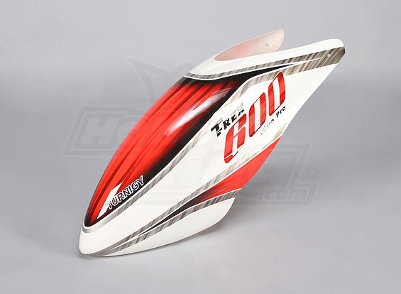 Turnigy High-End Fiberglass Canopy voor Trex 600-Nitro