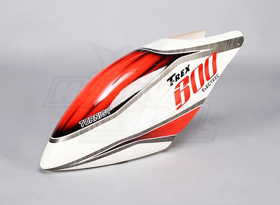 Turnigy High-End Fiberglass Canopy voor Trex 600-Electric