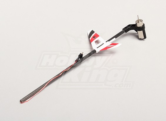 Vervanging Tail Set w / Motor (wit) - Solo Pro 270