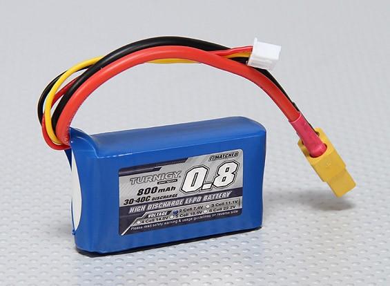 Pack Turnigy 800mAh 2S 30C Lipo