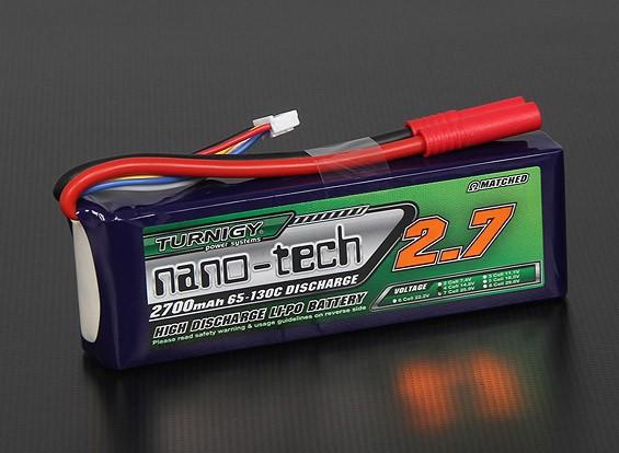 Turnigy nano-tech 2700mAh 4S 65 ~ 130C Pack Lipo