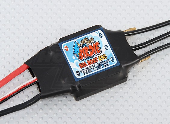 Birdie 50A Brushless ESC Boot w / 3A BEC