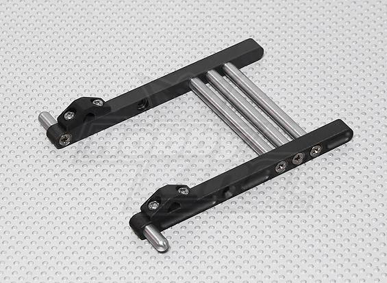 CNC Metal Zender Stand JR & Futaba