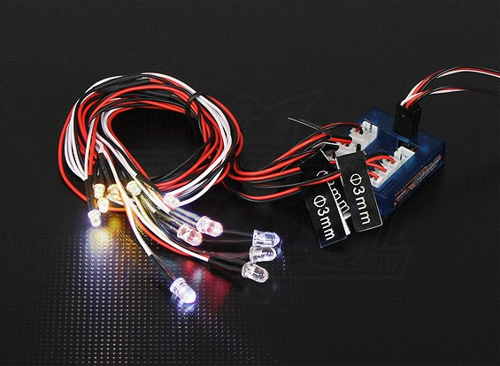 HobbyKing Schaal Car LED Light System