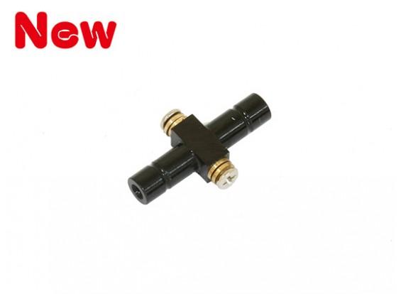 Gaui 100 & 200 Size CNC wip As (zwart geanodiseerd)