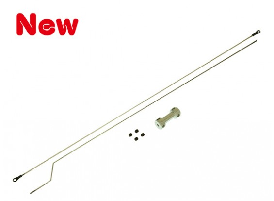 Gaui 425 & 550 2mm Push Rod Set (met Richter)