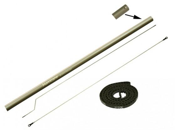 Gaui 425 & 550 Tail Boom Conversion Set (met riem 572XL) voor 550L Blade.