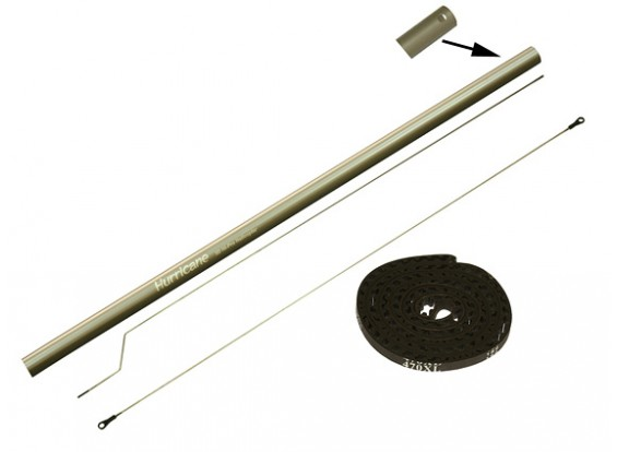 Gaui 425 & 550 Tail Boom Conversion Set (met riem 470XL) voor 425L Blade