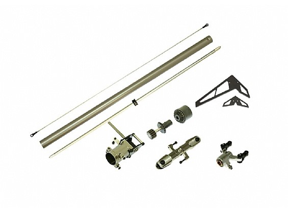 Gaui 425 CNC Torque tube staart upgrade pack (voor 425mm Blade)