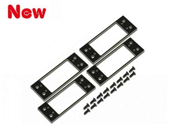 Gaui 425 & 550 Fiber Servo Plates (37x18.8mm)