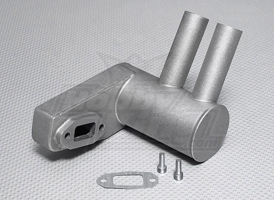 Pitts Muffler voor 50cc ~ 56cc gasmotor