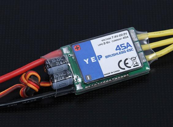 Hobbyking YEP 45A (2 ~ 6S) SBEC Brushless Speed Controller