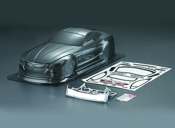 10/01 Z4 Carbon Fiber Stijl Car Body Shell (190mm)