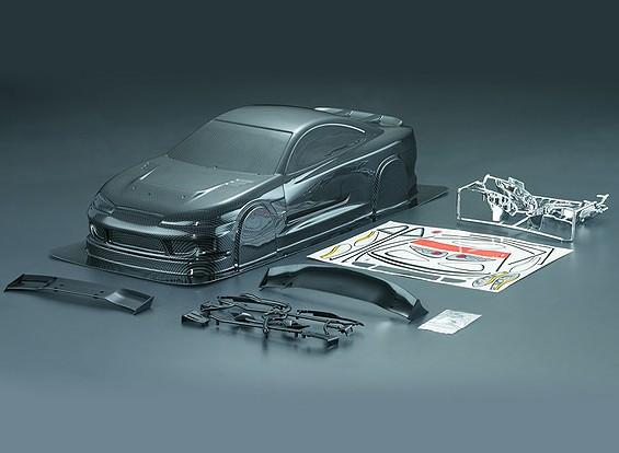 1/10 S15 Carbon Fiber Stijl Car Body Shell (190mm)