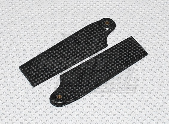 92mm Carbon Fiber Tail Blades (600size) (1 paar)
