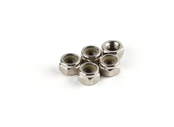 Nylon Nut M5 (5 stuks / zak) - Turnigy Twister 1/5