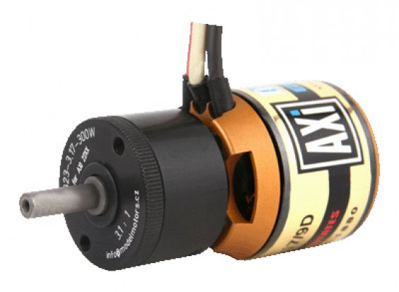 AXi 2217 / 09D-PG3 GOLD LINE borstelloze motor