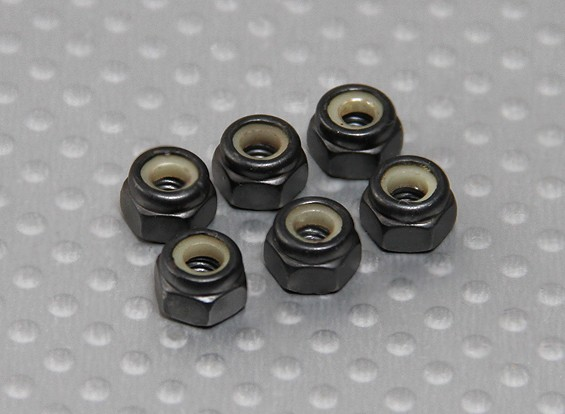 M4 Lock Nut - Turnigy Titan 05/01 (6 stuks / Bag)